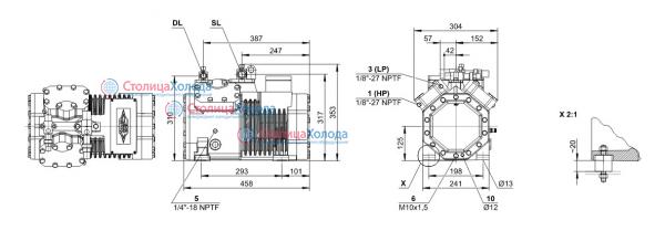 Кожухотрубный конденсатор ONDA SM 12 Камышин Кожухотрубный испаритель ONDA LSE 400 Бийск