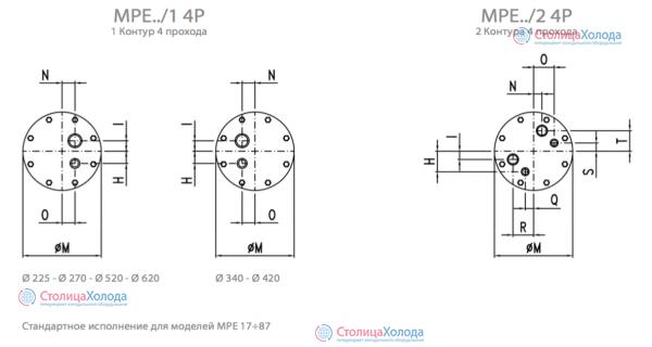 Кожухотрубный испаритель ONDA MPE 335 Ноябрьск проектирование воздушного теплообменника