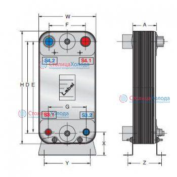 Схемы подключения теплообменника альфа лаваль работа теплообменника пластинчатого теплообменника